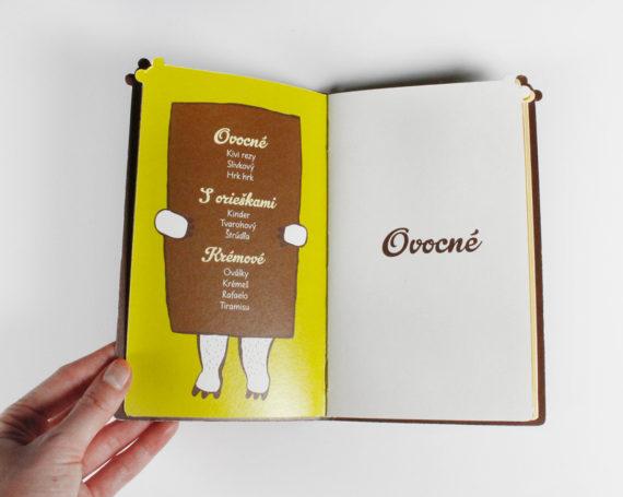 White bear illustrated menu