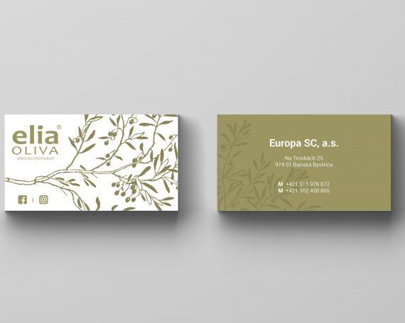 eliaOliva – business cards